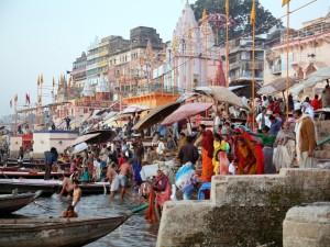 Święta kąpiel w Gangesie