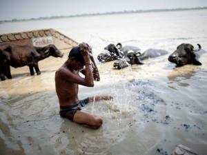 Święta kąpiel w Gangesie8