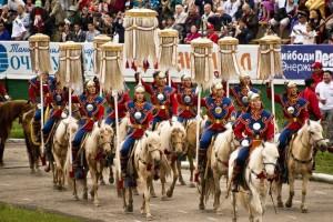 Święto Naadam, czyli mongolskie igrzyska sportowe