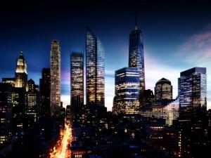 Drapacze chmur Manhattanu 5
