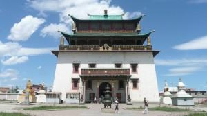 Gandan - największy ośrodek religijny Mongolii