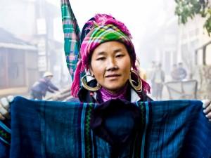 Mniejszości etniczne w górach SAPA1