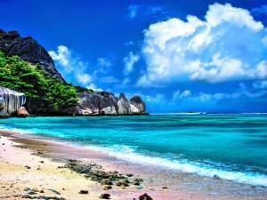 Najsłynniejsza plaża La Digue