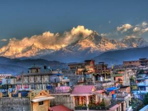 Pokhara- w drodze na Annapurnę