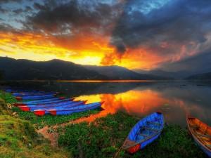 Pokhara- w drodze na Annapurnę3