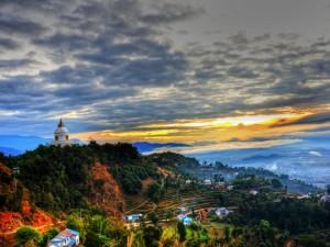 Pokhara- w drodze na Annapurnę8