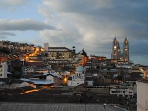 Quito- miasto kościołów i klasztorów