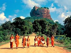 Sigiriya- Lwia skała1
