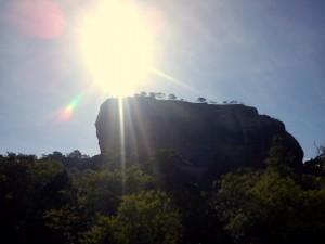 Sigiriya- Lwia skała2