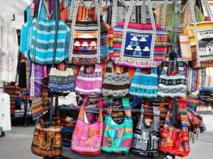 Sobotni targ w Otavalao