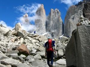 Widowiskowe góry Torres del Paine