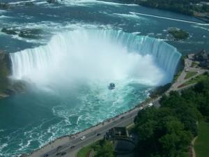 Wodospad Niagara - u stóp żywiołu