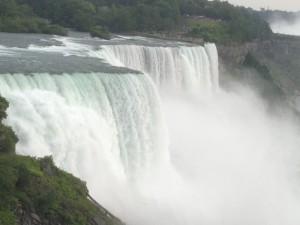 Wodospad Niagara - u stóp żywiołu1
