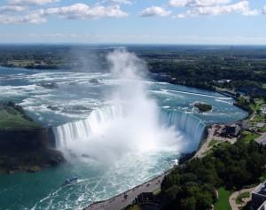 Wodospad Niagara - u stóp żywiołu3